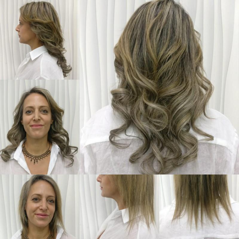 תוספת שיער לפני ואחרי - NHH-CLINIC